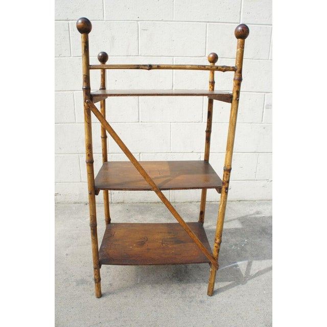 Bamboo Etagere Shelf For Sale - Image 5 of 7
