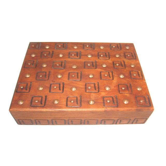 Hand Carved Trinket Box - Image 3 of 6