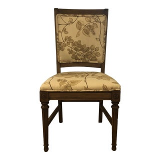 1960s Statesville Side Chair With Botanical Upholstery For Sale