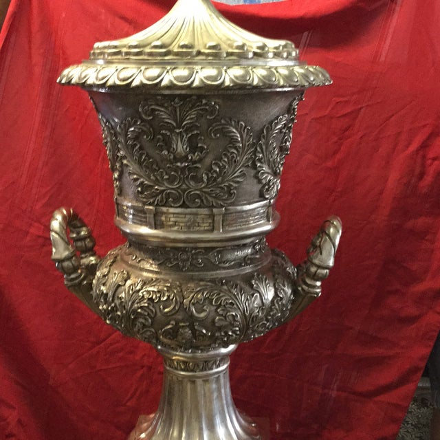 Silver Cup Sculpture - Image 5 of 11