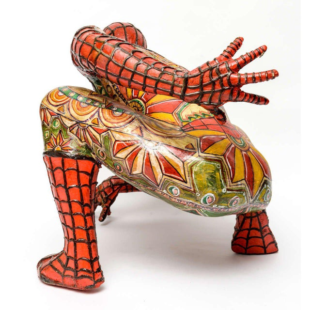 Domenico Pellegrino Spiderman Sculpture - Image 5 of 10