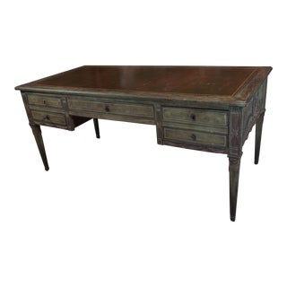 """French Revolution"" Polychrome Desk For Sale"