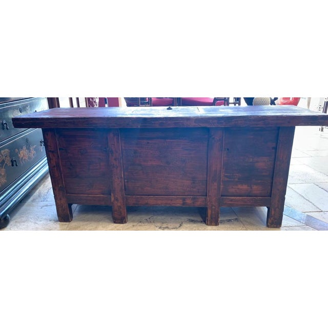 20th Century Tibetan Dowry Chest For Sale - Image 9 of 10