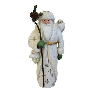Christmas Holiday P. Schifferl Santa Figurine For Sale