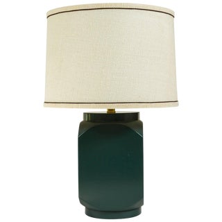 Martin & Brockett Modern Matte Lacquer Lamp For Sale