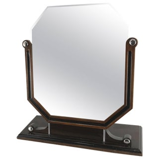 Stylized Art Deco Dresser Mirror For Sale
