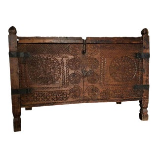 Moving Sale - Rustic Indonesian Storage Trunk