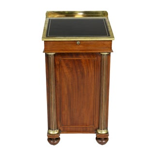 Regency Mahogany and Brass Mounted Campaign Desk Preview