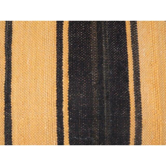 Vintage Black Moroccan Pouf For Sale - Image 10 of 11