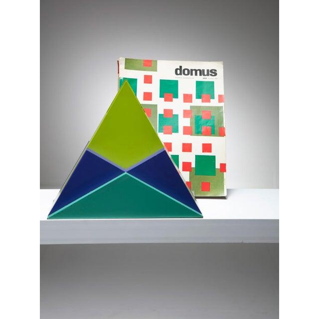 1980s Sculpture Vase by Marcello Morandini For Sale - Image 5 of 6
