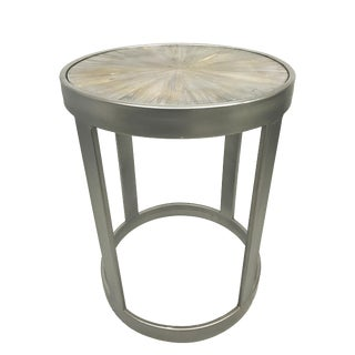 Contemporary Artistic Home Gravitas Side Table For Sale