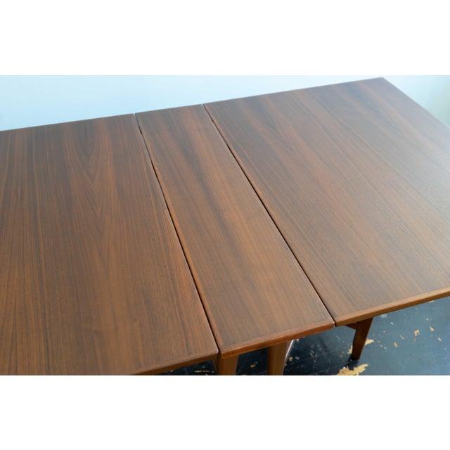 Mid Century Teak Drop Leaf Dining Table By Ib Kofod Larsen For G