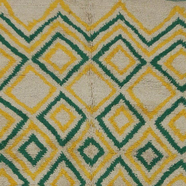 """Vintage Moroccan Berber Azilal Rug - 5'7"""" x 12'8"""" For Sale - Image 5 of 6"""