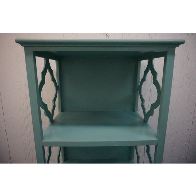 Turquoise Bookshelf For Sale