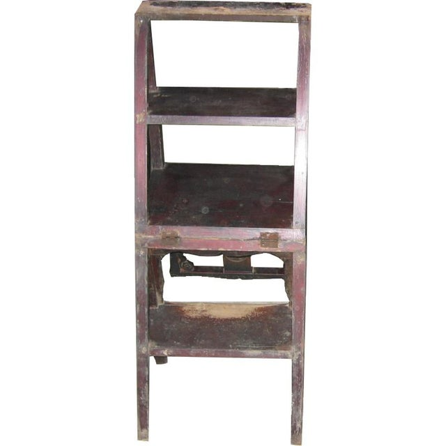 Antique Chinese Ladder Chair - Image 2 of 3