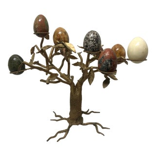 Marble Eggs Tree - 10 Pieces For Sale