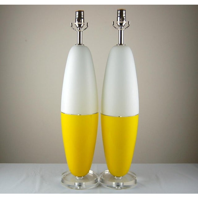 During the1960s, many designs were inspired by airplanes and rockets - these lamps being a perfect example. A wonderful...