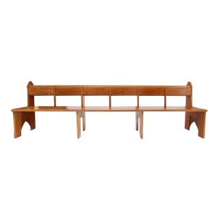 1920s Amsterdam School Style Benches 1 For Sale