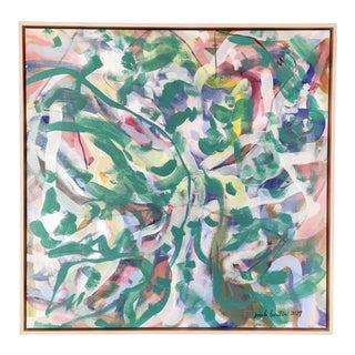 Garden of Weeds Original Painting For Sale