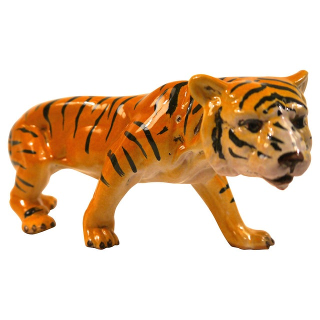 1950's Ceramic Italian Tiger - Image 2 of 6