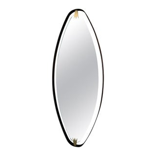 Ma39 Oversized Oval Wall Mirror, Italy For Sale