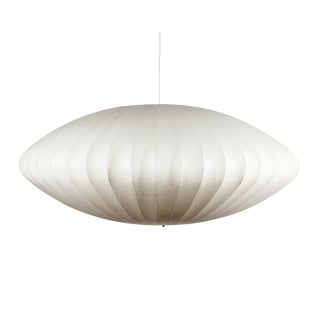 George Nelson for Herman Miller Mid-Century Saucer Bubble Pendant Light For Sale