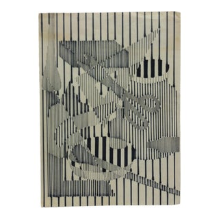 "Late 20th Century Sharon Kerti ""Cutting Lines"" Original Marker Drawing For Sale"