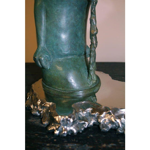 """Early 21st Century """"Ashamed of Myself"""" a New Bronze Sculpture by Ivan Palmer For Sale - Image 5 of 9"""