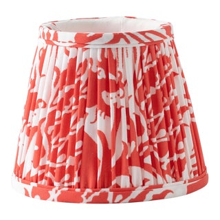"""Whippet in Red 10"""" Lamp Shade, Red For Sale"""