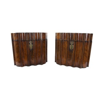 18th Century Georgian Knife Boxes - a Pair For Sale