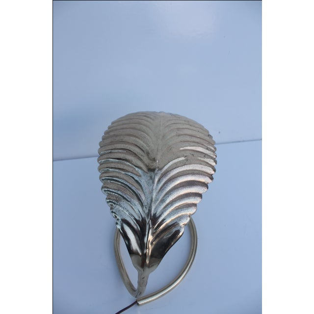 Curved Leaf Reading Lamp - Image 5 of 8
