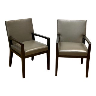 Holly Hunt Furniture Chairs- a Pair For Sale