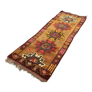 Vintage Anatolian Runner Rug For Sale