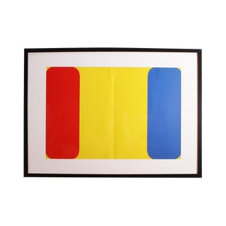 "1964 Ellsworth Kelly ""Derriere Le Miroir,"" No 164 Lithograph For Sale"