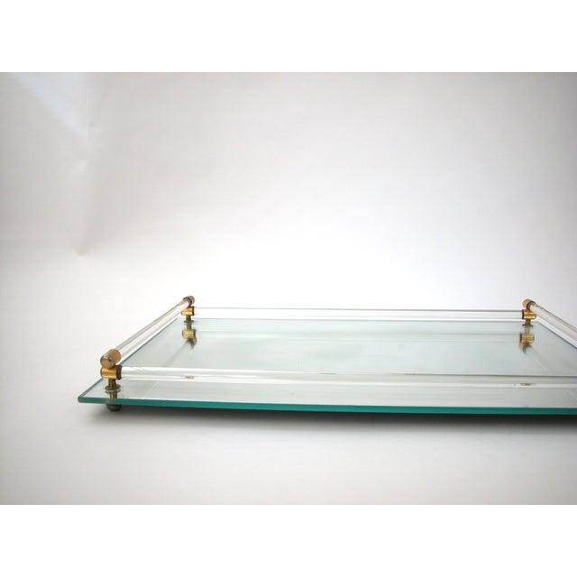 Glass Mirrored Vanity Tray - Image 9 of 9