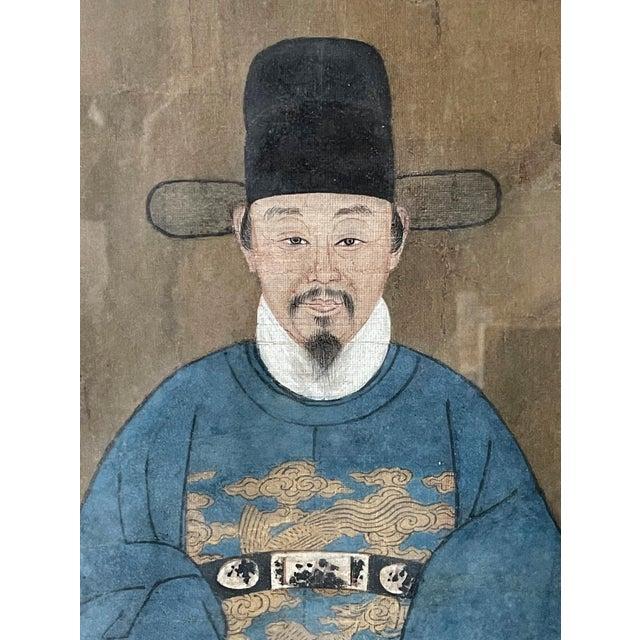 Framed Korean Official Portrait Joseon Dynasty For Sale In Atlanta - Image 6 of 11