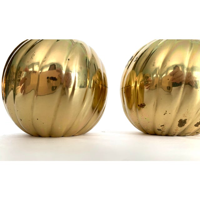 1970s Modern Brass Candle Holder - Set of 3 For Sale - Image 4 of 9