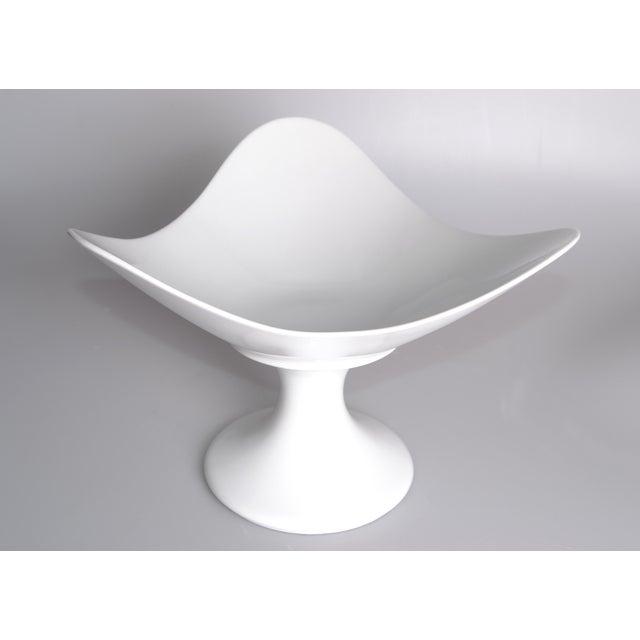 White Porcelain Rosenthal Fruit Bowl | Chairish