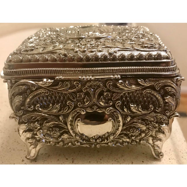 Silver Chinese Silver Cigarette Box For Sale - Image 8 of 8