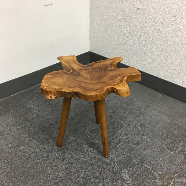 Live Edge Side Table - Image 2 of 9