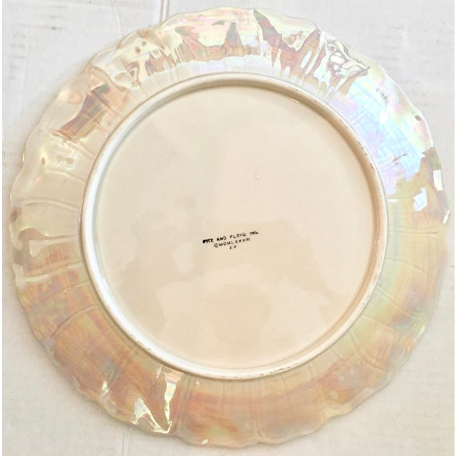 Fitz and Floyd Fitz & Floyd Art Nouveau Dinner Plates - Set of 8 For Sale - Image 4 of 8