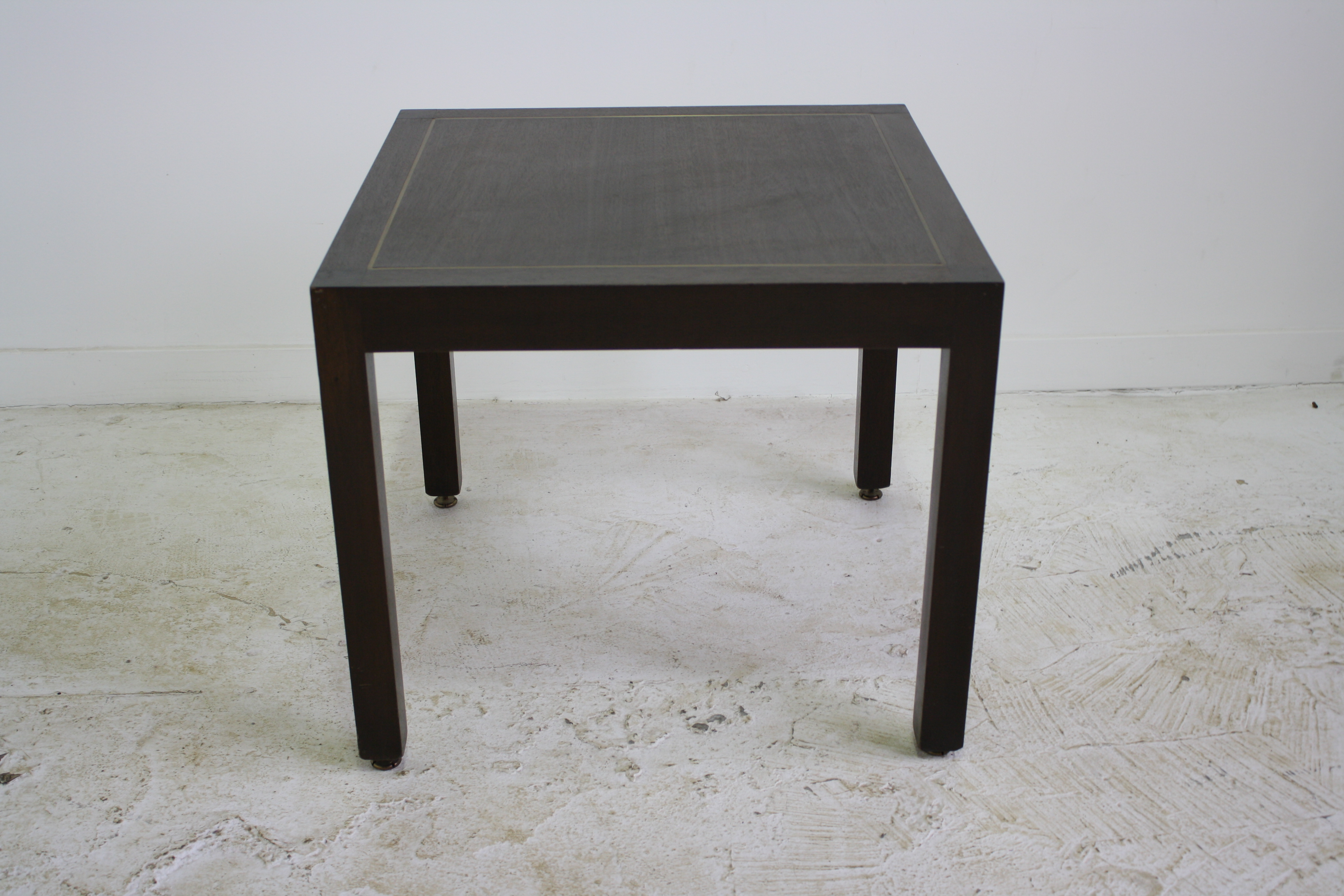 Delicieux A Parsons Side Table Designed By Edward Wormley For Dunbar In The 1960s.  This Mid