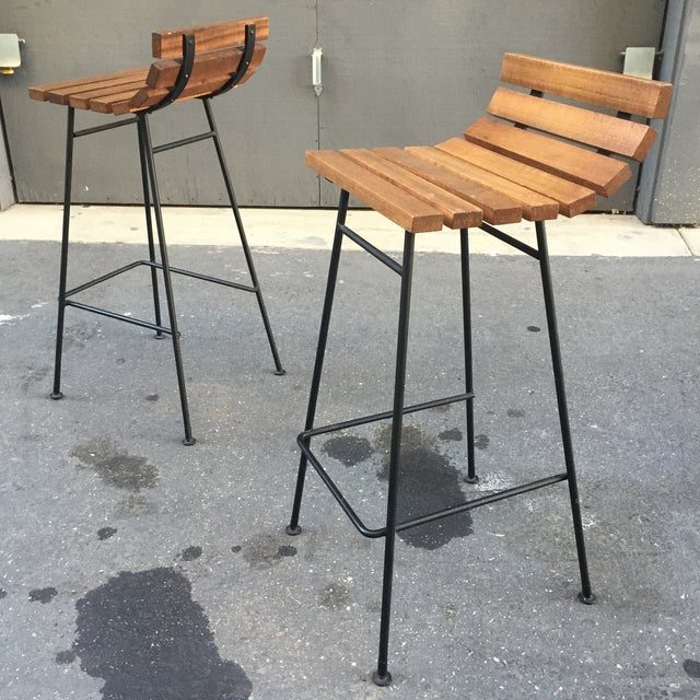 Vista of California Barstools - A Pair - Image 3 of 5