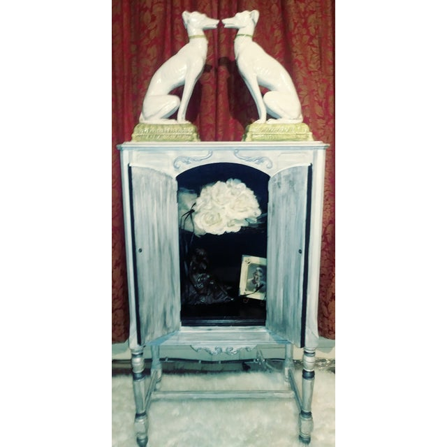 Italian Vintage Italian Whippets Statues - a Pair For Sale - Image 3 of 11