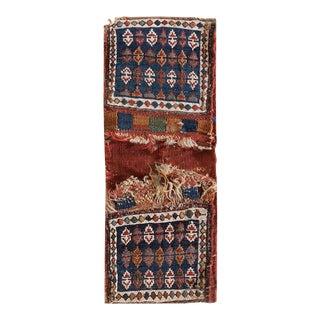 """Antique Persian - Soumak Rug 2'0"""" X 0'9"""" For Sale"""