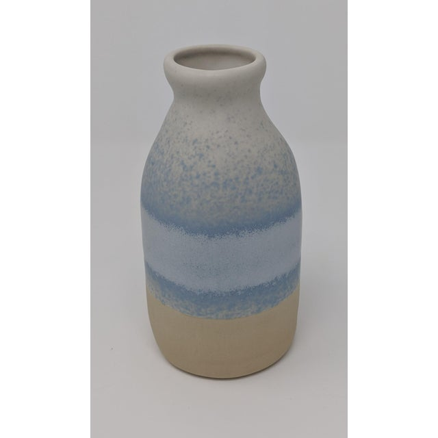 Blue and White Gradient Vase For Sale - Image 11 of 12