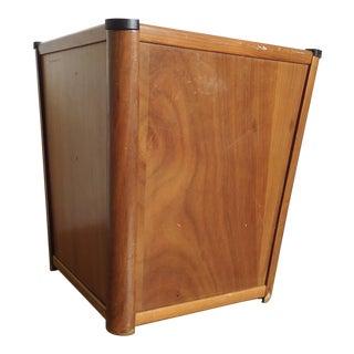 Mid Century Modern Style Waste Basket For Sale