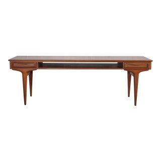 1960s Mid-Century Modern Arne Vodder Teak Coffee Table For Sale