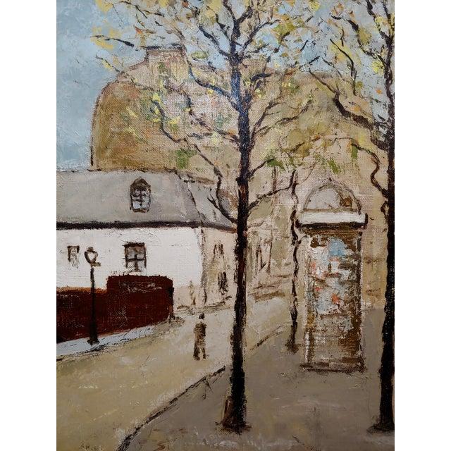 Louis Peyrat -Paris Street Scene - Oil Painting For Sale In Los Angeles - Image 6 of 11