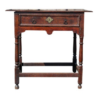 Jacobean Oak Tavern Table For Sale